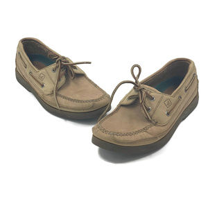 Sperry Shoes - Sperry Top-Sider Mens Mako Collection Tan Shoes